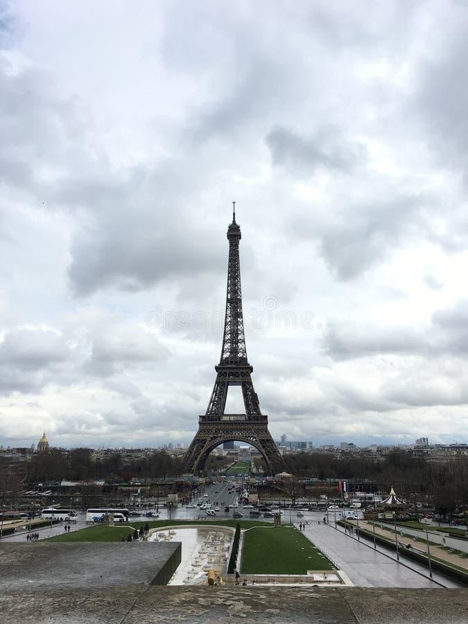 La torre de Eifel imagenes de archivo