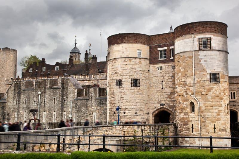 La Torre De Londres, El Reino Unido. Royal Palace Histórico Fotografía de archivo libre de regalías