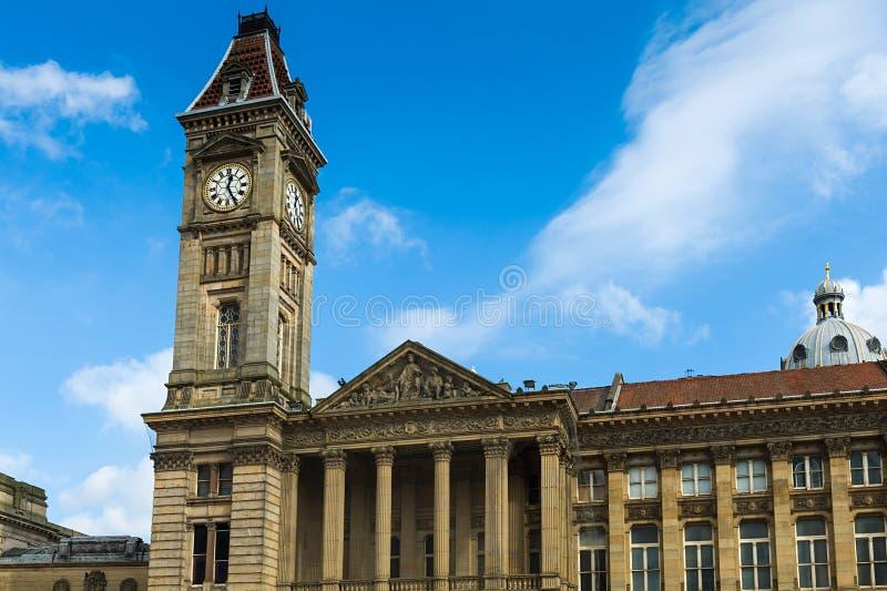 La torre de reloj de la casa del consejo fotos de archivo libres de regalías