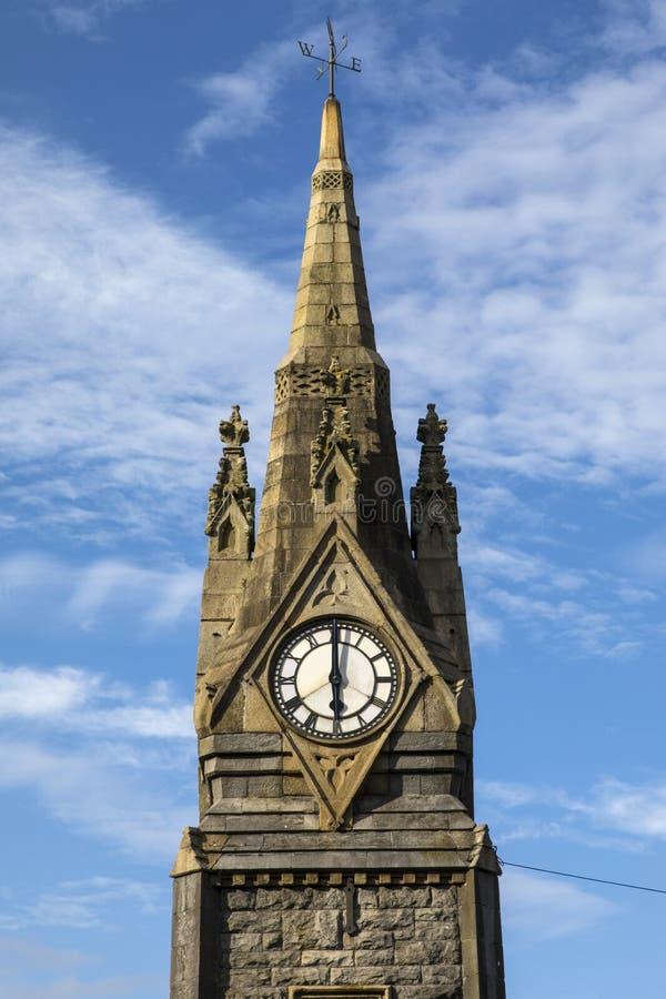 La torre de reloj en Waterford foto de archivo libre de regalías