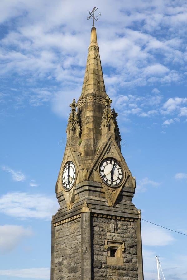 La torre de reloj en Waterford fotografía de archivo