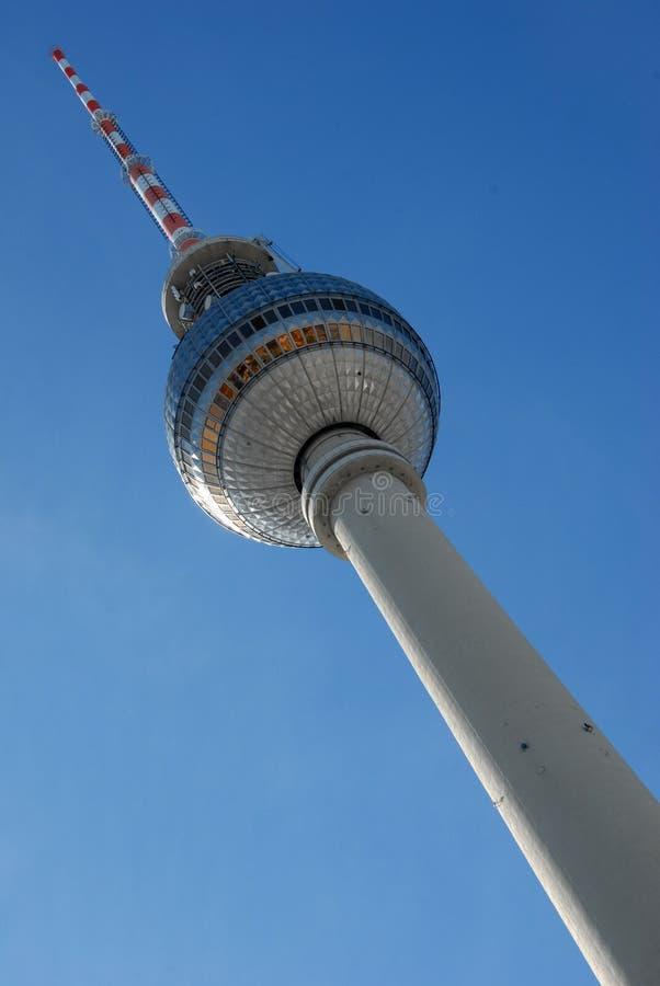 La torre de la televisión en Berlín, Alemania imagenes de archivo