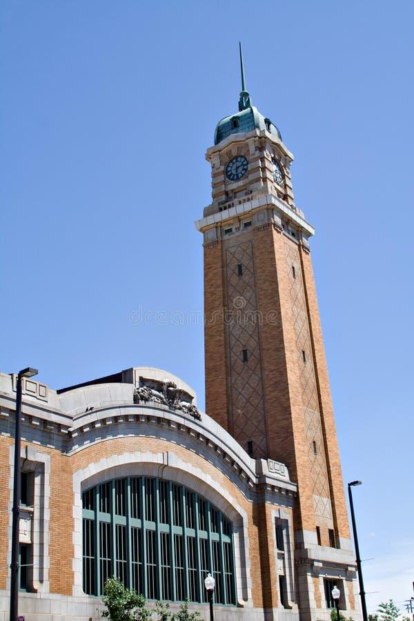 La torre del mercado del lado oeste foto de archivo