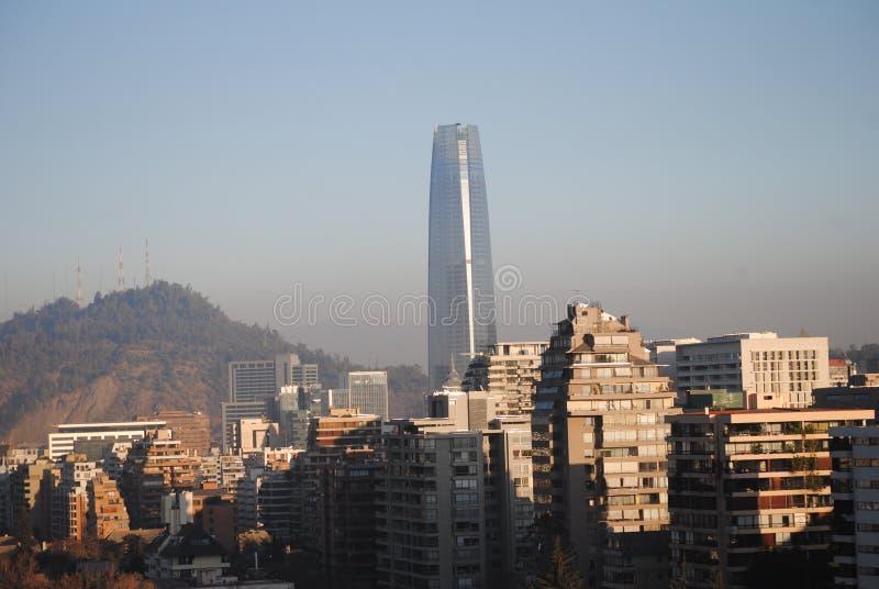 La torre di Costanera nel Cile fotografie stock libere da diritti