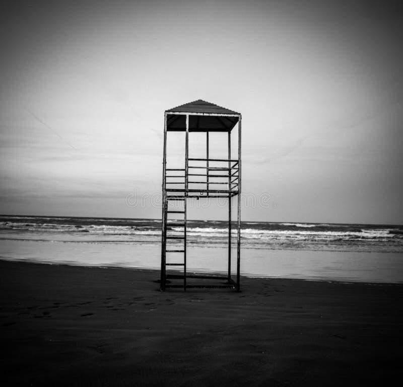 La torre di guardia di vita fotografia stock