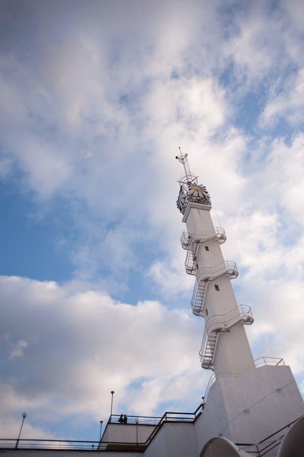 La torre di orologio fotografie stock libere da diritti