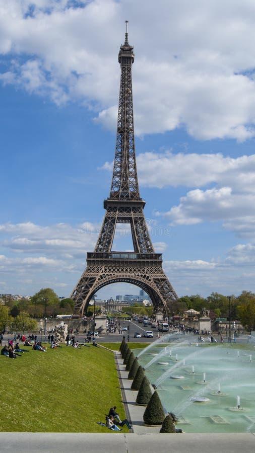 La torre Eiffel fotos de archivo libres de regalías