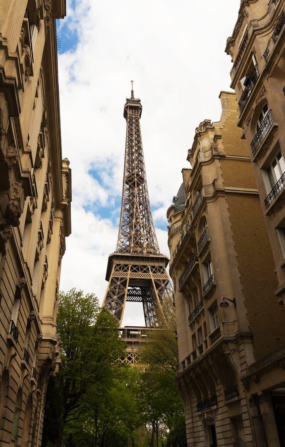 La torre Eiffel, París, Francia fotos de archivo