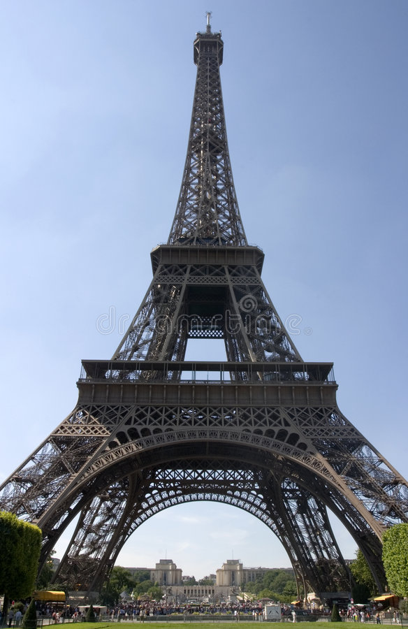 La Torre Eiffel - Parigi, Francia fotografie stock