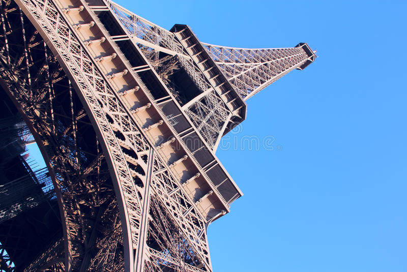 La Torre Eiffel a Parigi, Francia fotografie stock
