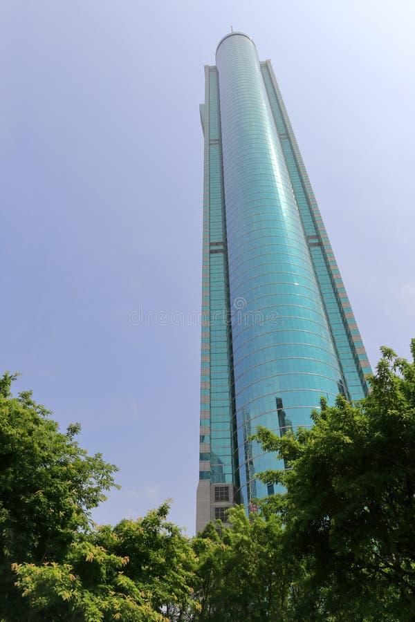 La torre famosa del diwang de Shenzhen imagen de archivo