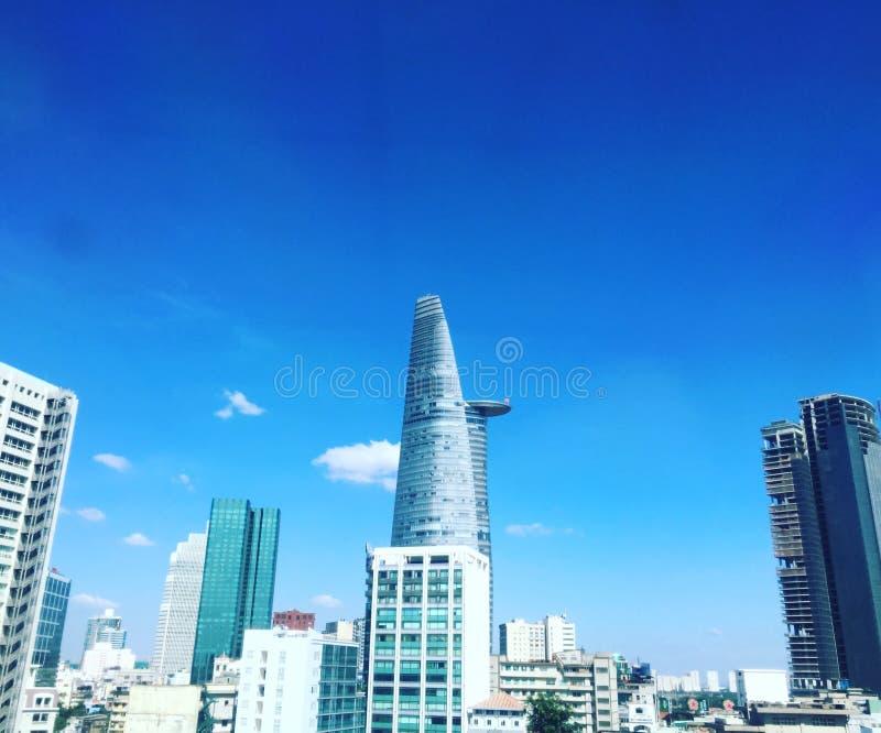 La torre finanziaria, Bitexco, a Ho Chi Minh City Vietnam fotografia stock