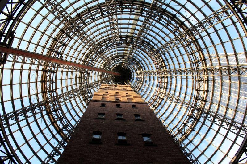 La torre sparata della gabbia fotografia stock
