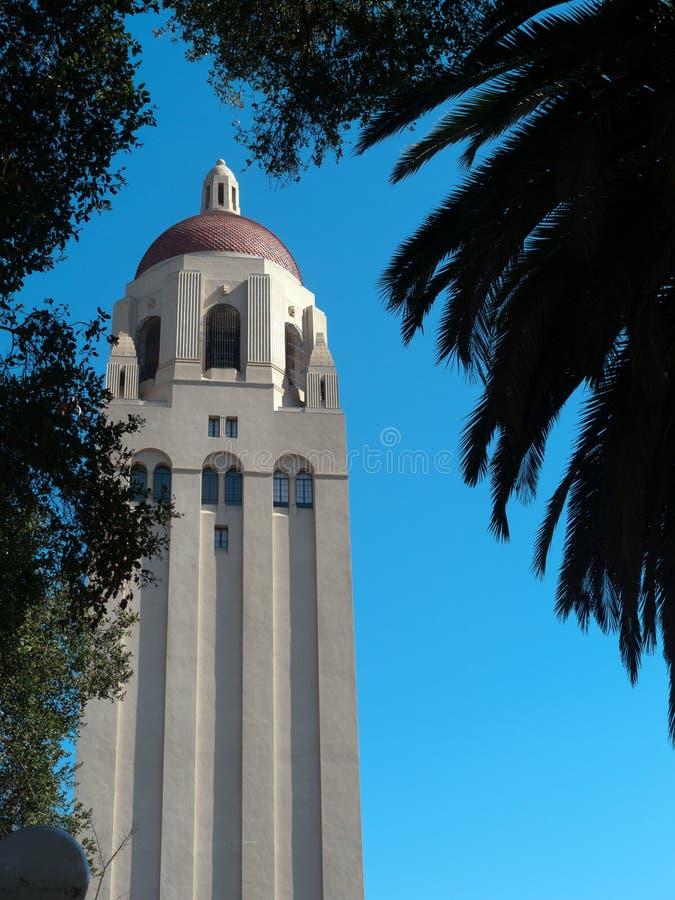 La torre a Stanford fotografia stock