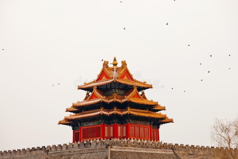 La torretta della Città proibita fotografia stock libera da diritti