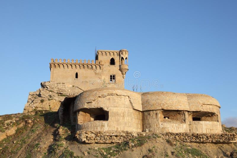 La torretta di Tarifa, Spagna fotografia stock libera da diritti