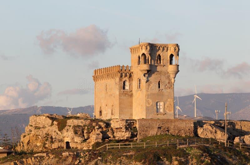 La torretta di Tarifa, Spagna immagine stock libera da diritti