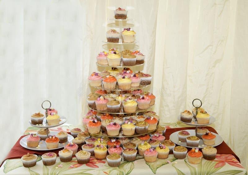 La torta de boda fotos de archivo libres de regalías