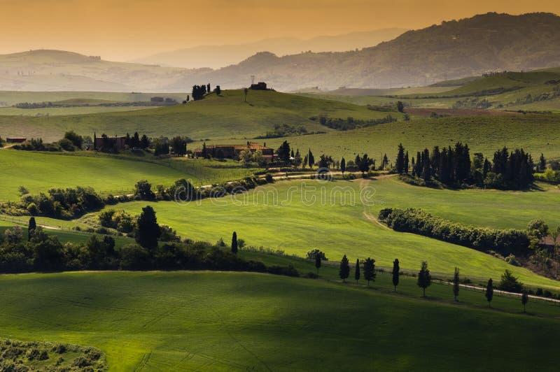 La Toscana fotografia stock libera da diritti