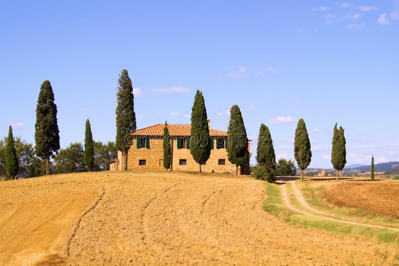 La Toscana classica immagine stock libera da diritti