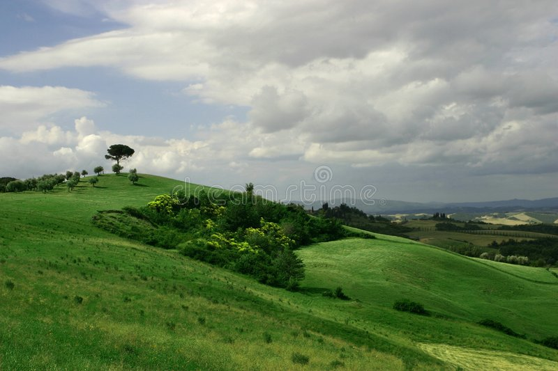 La Toscane photographie stock