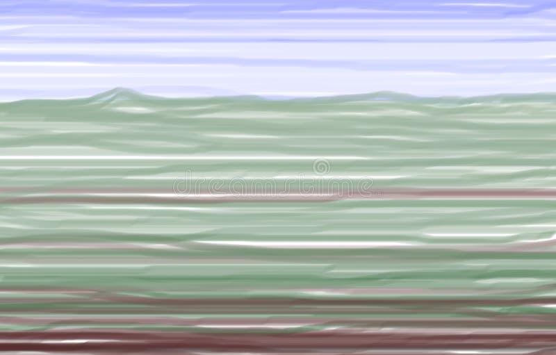La Toscane en couleurs illustration de vecteur