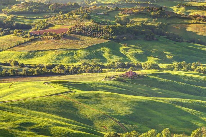 La Toscane Italie image libre de droits