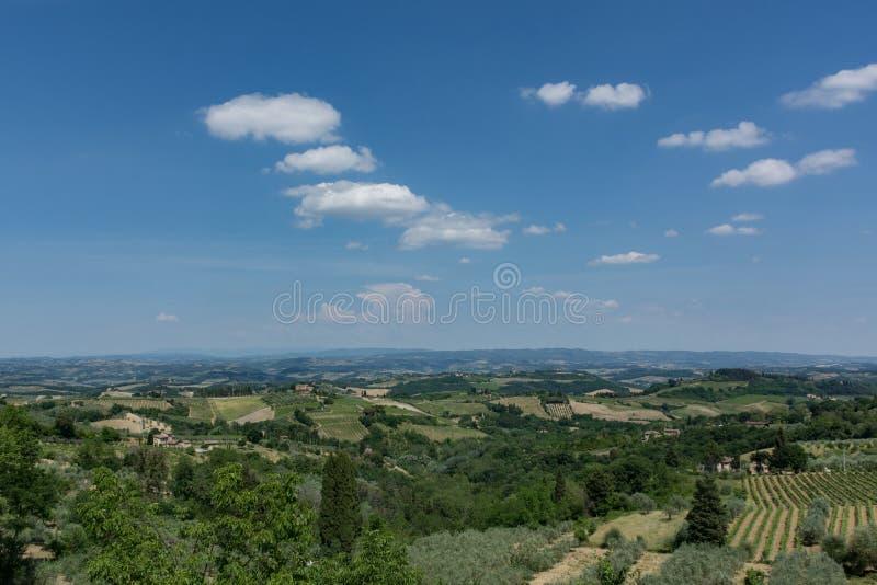 La Toscane Italie photo stock