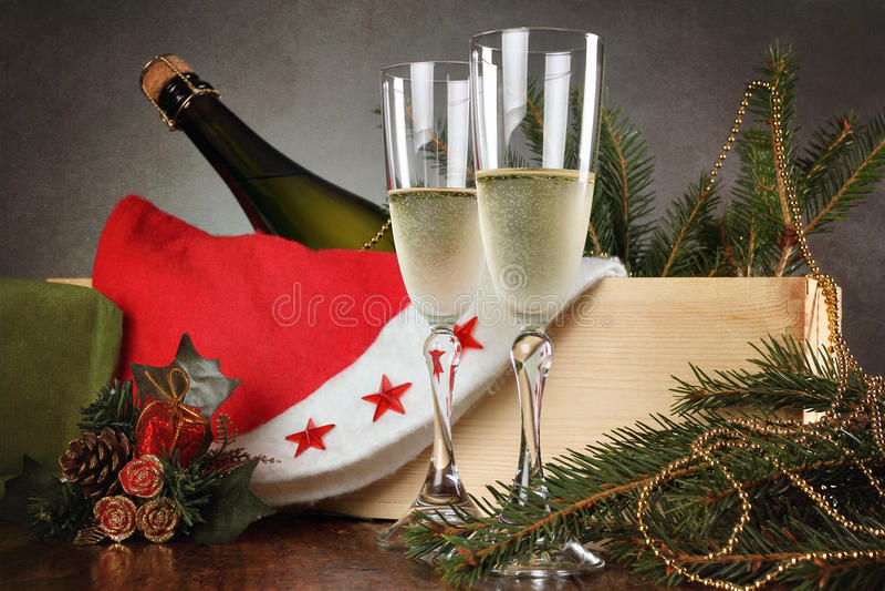 La tostada de la Navidad está lista fotos de archivo libres de regalías