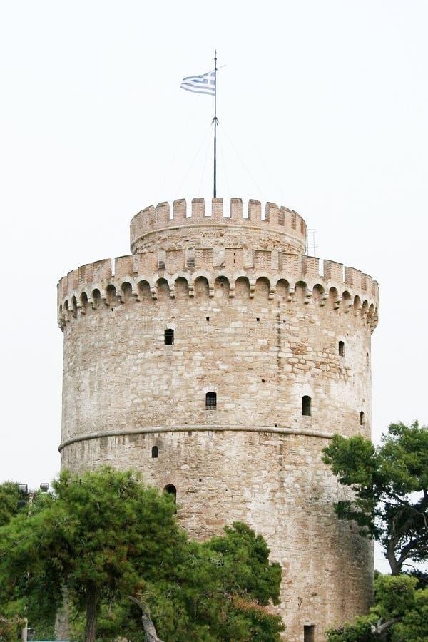 La tour blanche photographie stock