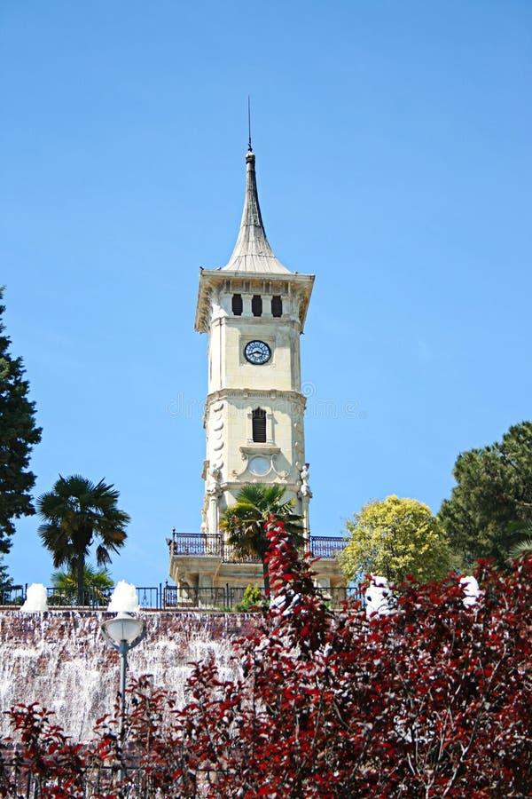 La tour d'horloge d'Izmit, symbole de ville d'Izmit image libre de droits