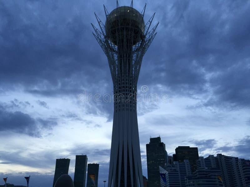 La tour de Baiterek photo stock