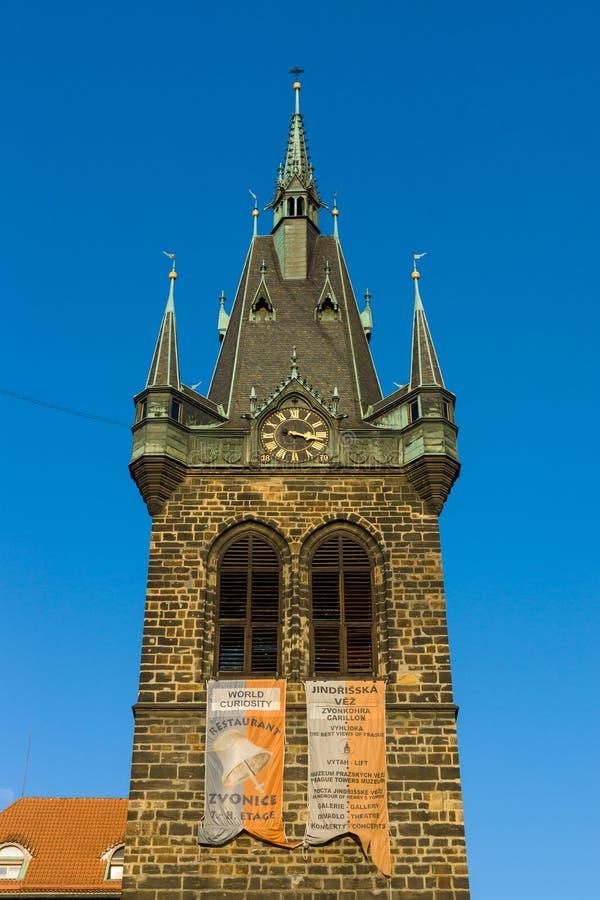 La tour de cloche de l'église Roman Emperor Saint Henry saint II et saint Cunigunde du Luxembourg image stock