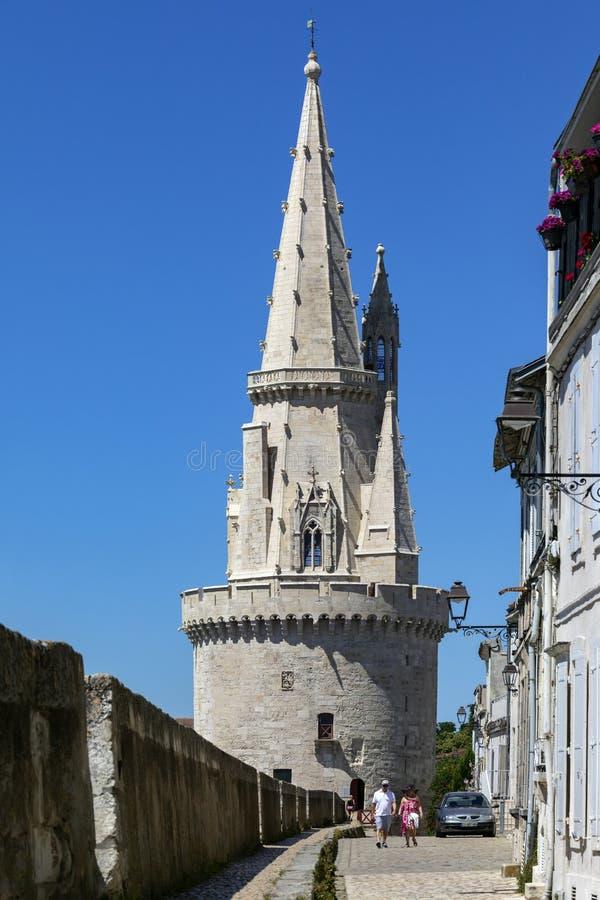 La Tour de la Lanterne - La Rochelle - Frances photos stock