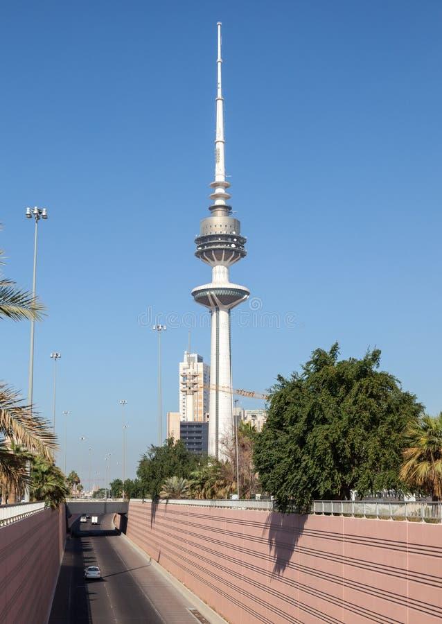 La tour de libération à Kuwait City photographie stock