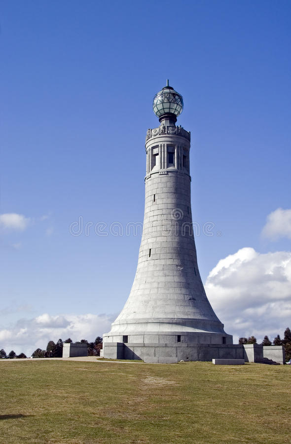 La tour de mémorial de Greylock de support images libres de droits