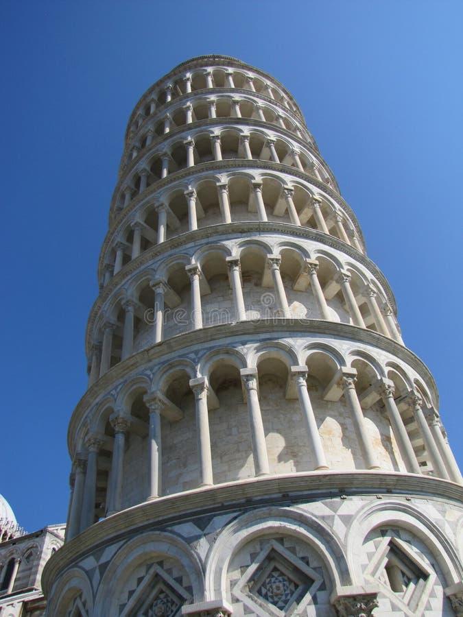 La tour de Pise se penche toujours en Italie ! photos libres de droits