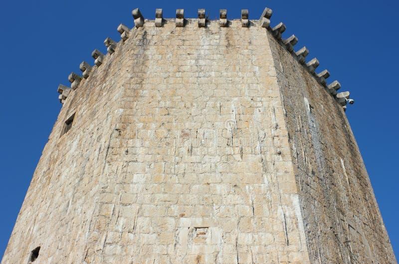 La tour de Veriga dans Trogir photo libre de droits