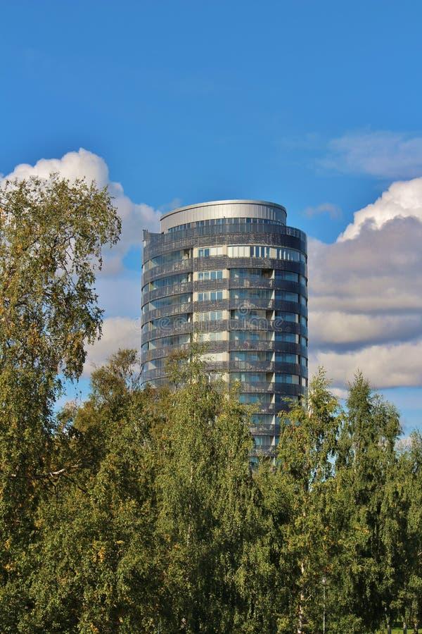 La tour de ville dans Piteå photos libres de droits