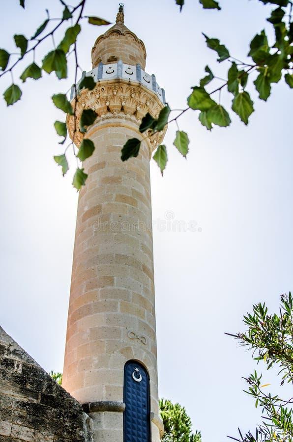 La tour du château de St Peter à la lumière du soleil Bodrum, dinde image libre de droits