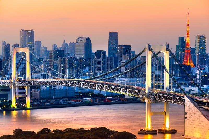 la tour en acier de Tokyo d'élévation résidentielle moderne élevée en verre concrète du Japon de constructions de construction d' photo libre de droits