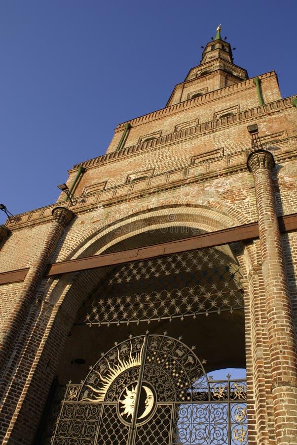 La tour légendaire de Suyumbike image stock