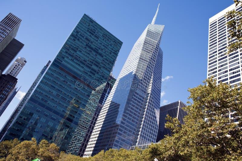 La tour New York City de la Banque d'Amérique photographie stock