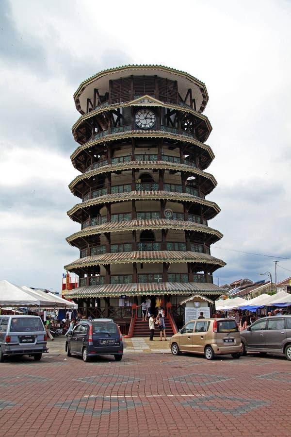 La tour penchée, Perak Malaisie photo libre de droits
