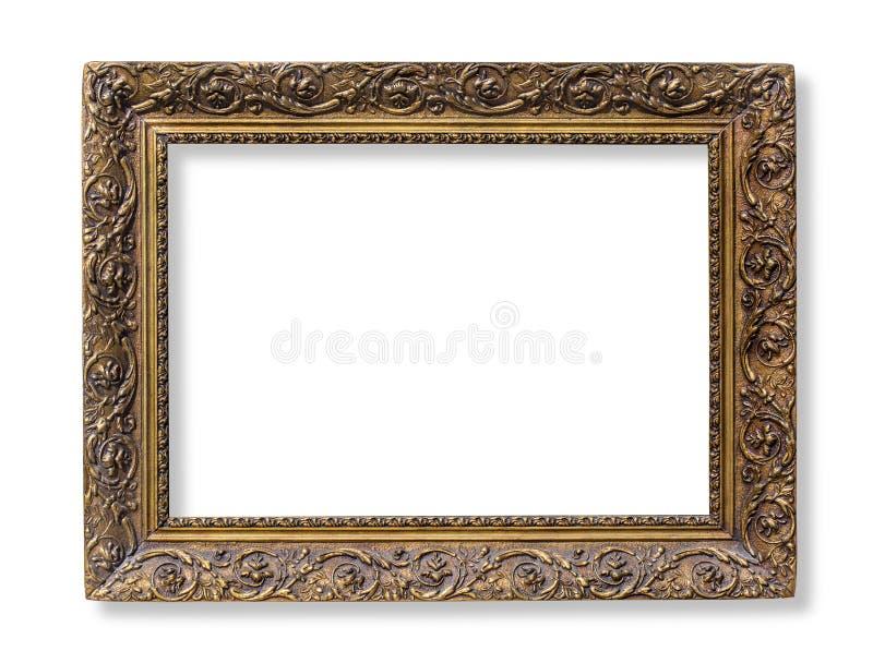La trame antique d'or photos stock