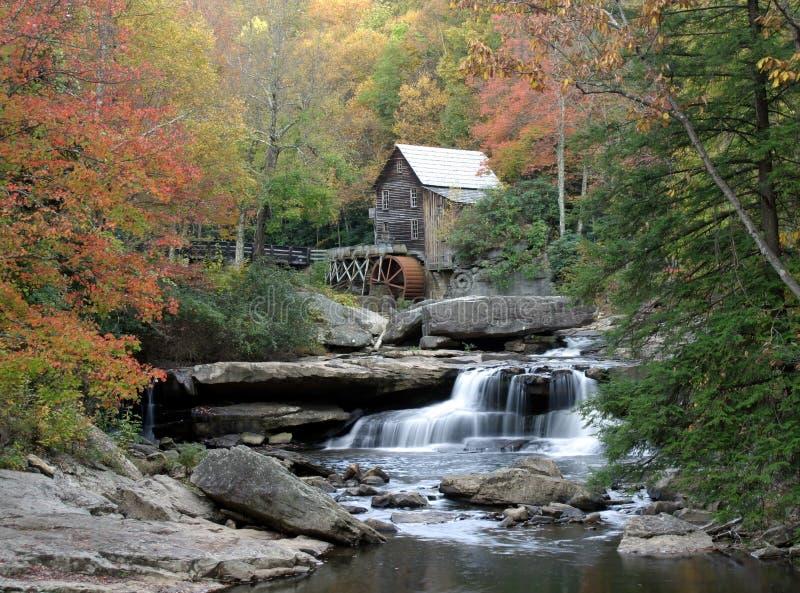 La tranquilité de l'automne photo stock