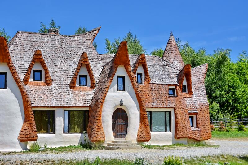 La Transylvanie Clay Castle en Roumanie images stock