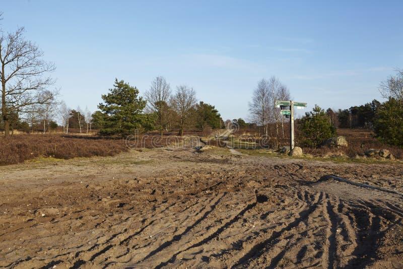 La trayectoria de Sandy lleva en una tierra imagenes de archivo