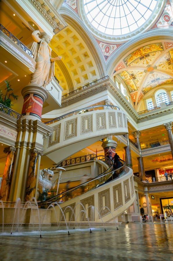 La tribuna acquista a Las Vegas fotografia stock libera da diritti