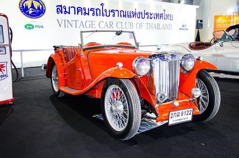 La trigésima expo internacional del motor de Tailandia fotografía de archivo libre de regalías
